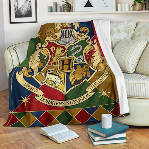 Harry Potter Hogwarts Premium Blanket Style 2