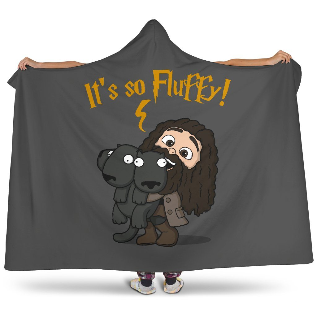 Harry Potter It's So Fluffy Hooded Blanket - - Ineffable Shop