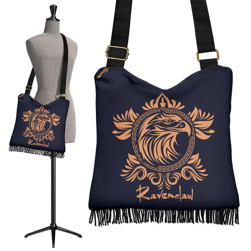 Ravenclaw Crossbody Boho Handbag - Ineffable Shop