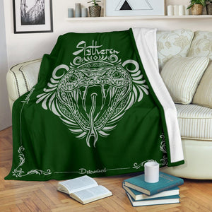 HARRY POTTER SLYTHERIN VINTAGE STYLE PREMIUM BLANKET