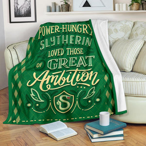 Harry Potter Slytherin Premium Blanket