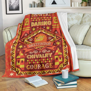 Harry Potter Gryffindor Premium Blanket