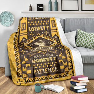 Harry Potter Hufflepuff Premium Blanket
