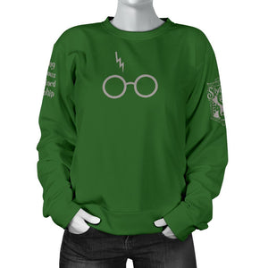Slytherin Women's Sweater - - Ineffable Shop