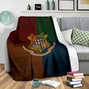Harry Potter Hogwarts Fleece Blanket - Ineffable Shop