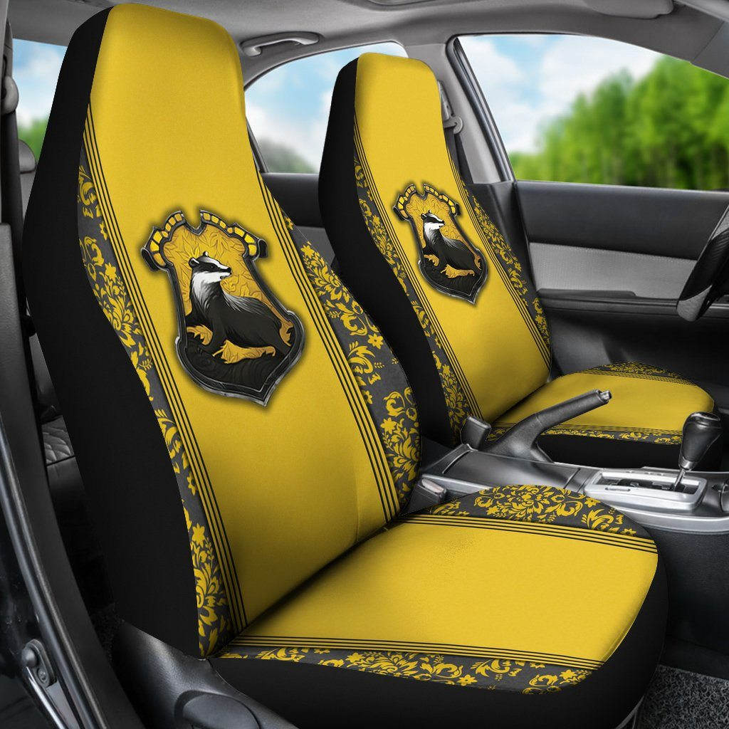 Hufflepuff Car Seat Cover HP0068 - (SET OF 2)