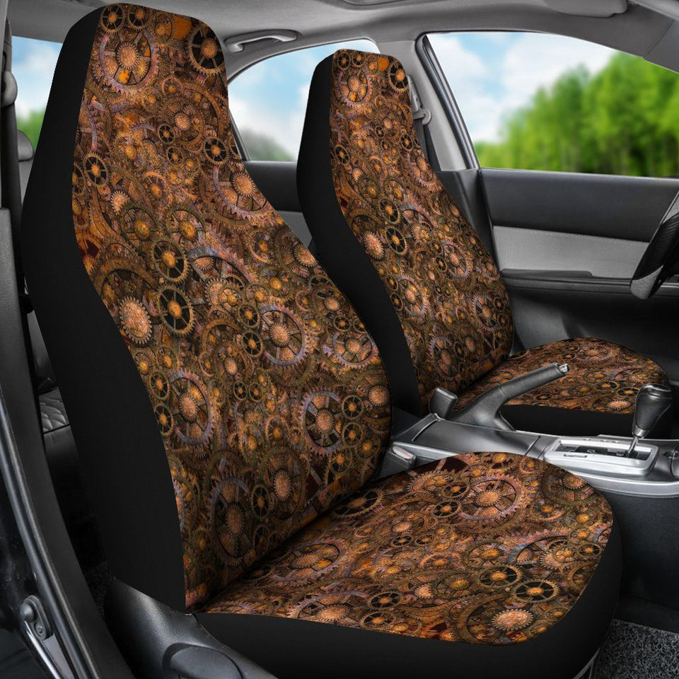 Car Seat Covers - Steampunk - - Ineffable Shop