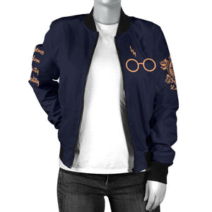 Ravenclaw Women's Bomber Jacket - - Ineffable Shop