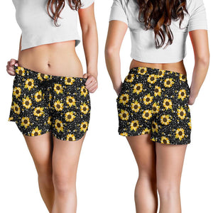 Sunflower And Bee Women's Shorts - Ineffable Shop