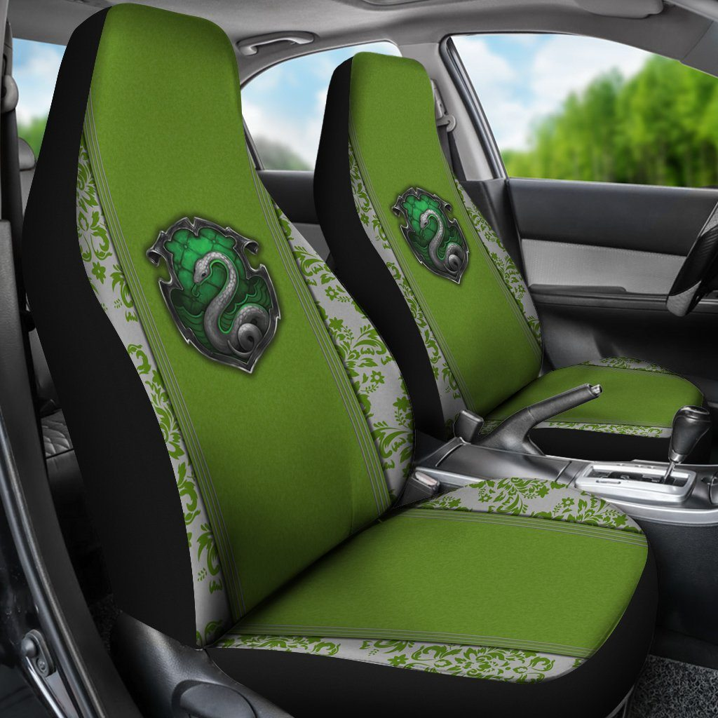 Slytherin Car Seat Cover HP0067 - (SET OF 2)