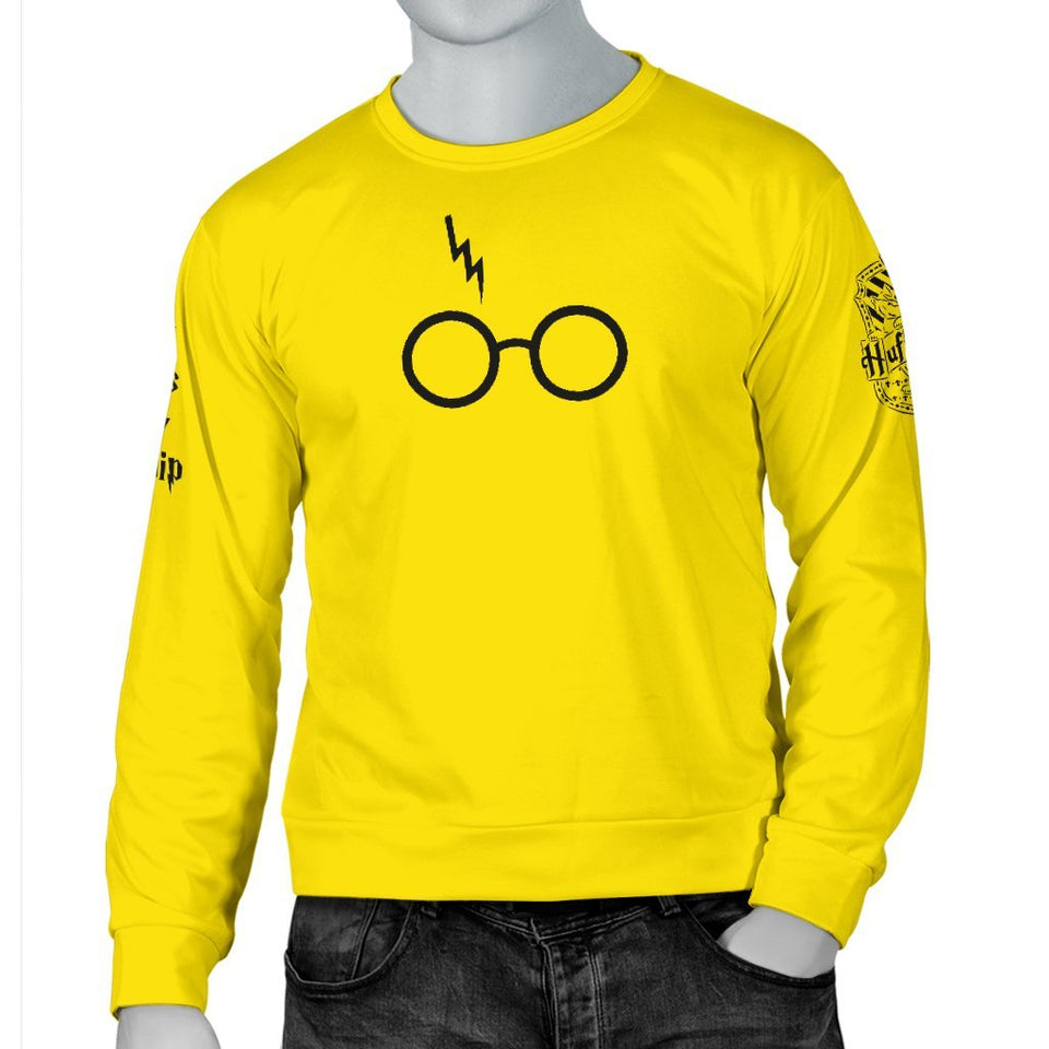 Hufflepuff Men's Sweater - - Ineffable Shop
