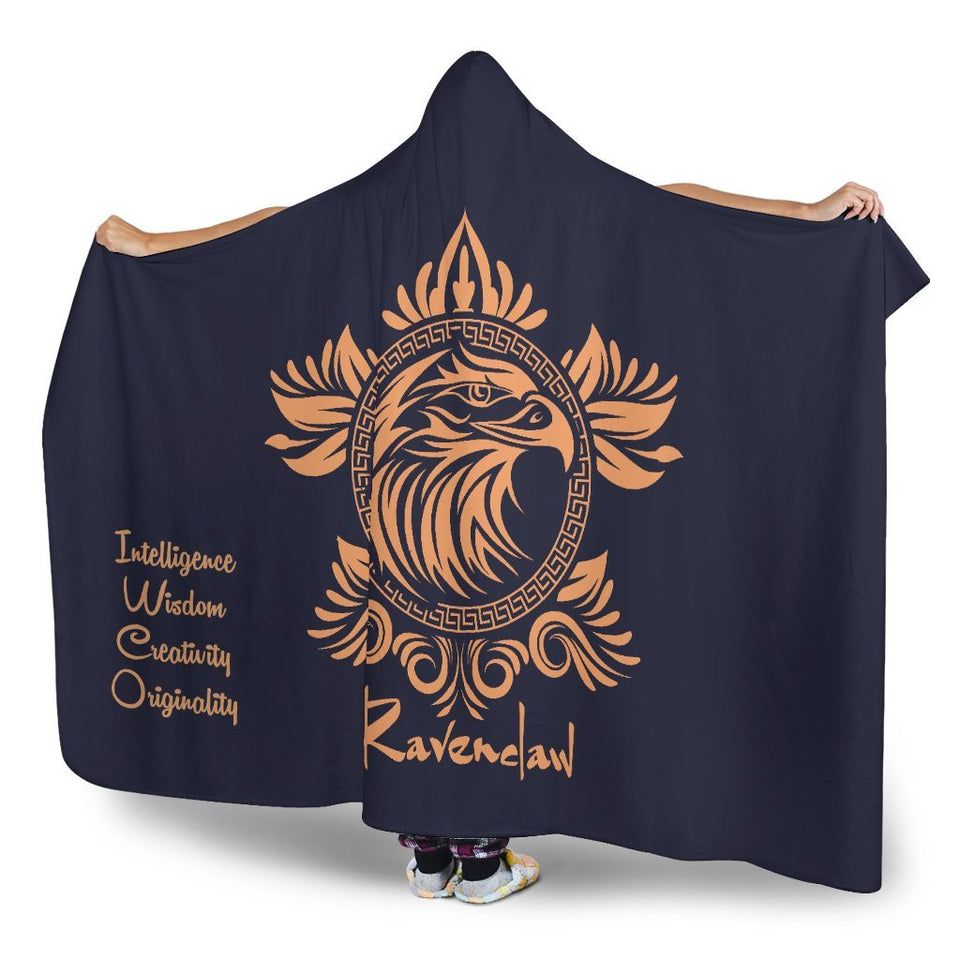 Harry Potter Ravenclaw Hooded Blanket - - Ineffable Shop