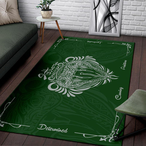 Harry Potter Slytherin Rug - - Ineffable Shop