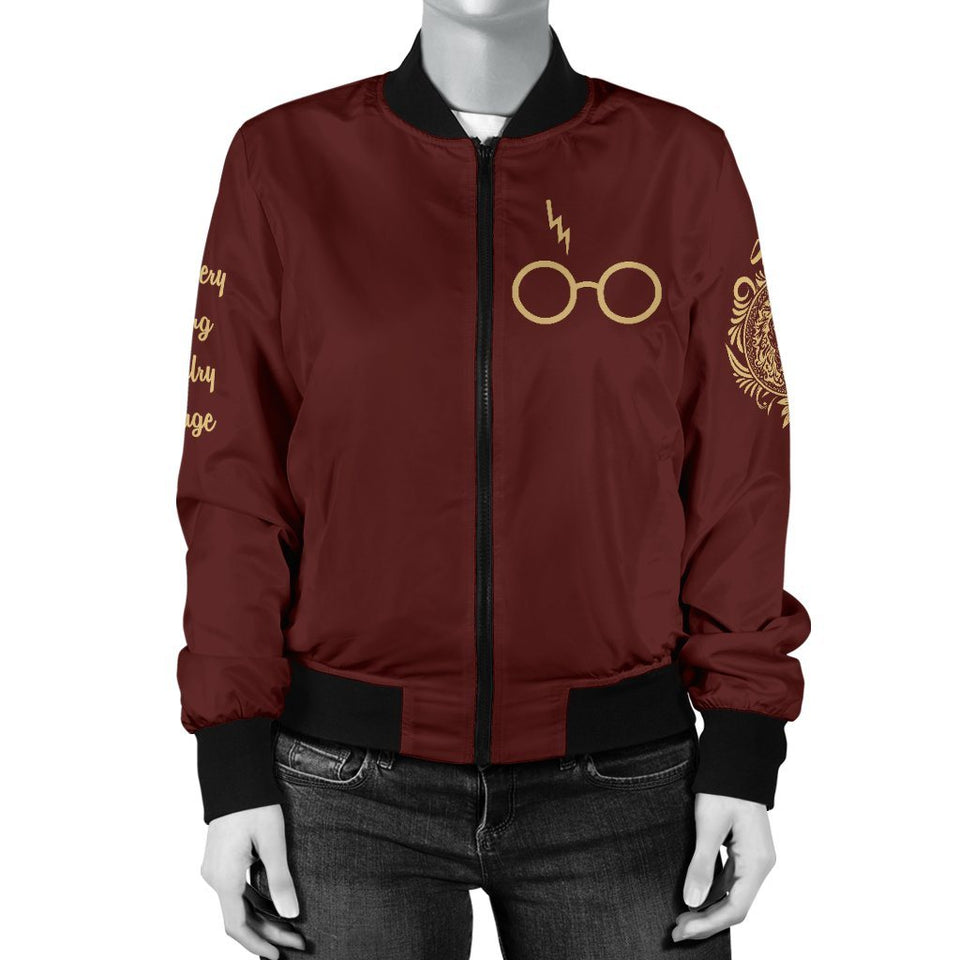Gryffindor Women's Bomber Jacket - Ineffable Shop