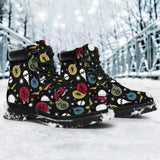 Harry Potter Christmas Women's Flat Ankle Boots - Ineffable Shop