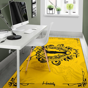 Harry Potter Hufflepuff Rug - - Ineffable Shop