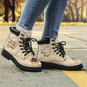 Harry Potter Marauder's Map Women's Flat Ankle Boots - Ineffable Shop