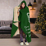 Harry Potter Slytherin Hooded Blanket - - Ineffable Shop