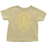Harry Potter Vintage Hufflepuff Toddler T-Shirt - Toddler T-Shirt / Lemon / 2T - Ineffable Shop