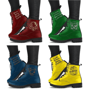 Harry Potter 4 Houses Women's Boots HP0001 - Ineffable Shop