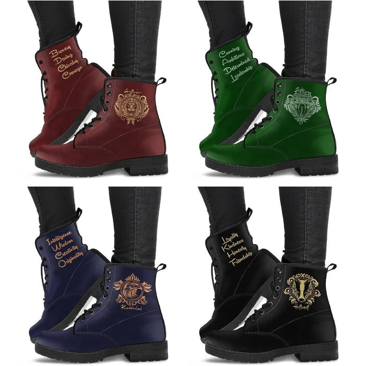 Harry Potter 4 Houses Women's Boots