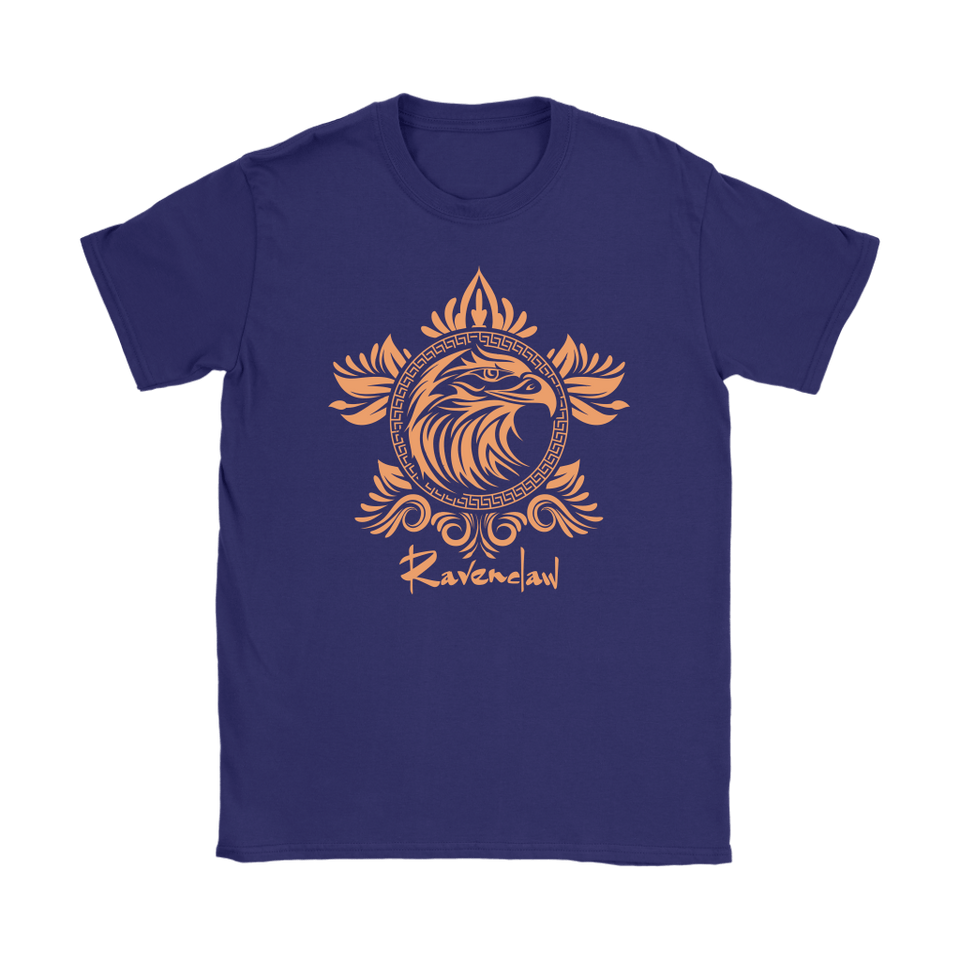 Harry Potter Vintage Ravenclaw Gildan Womens T-Shirt - Gildan Womens T-Shirt / Purple / S - Ineffable Shop