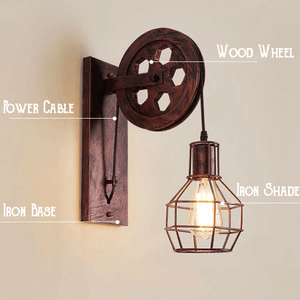 Creative Vintage Wall Lamp - - Ineffable Shop