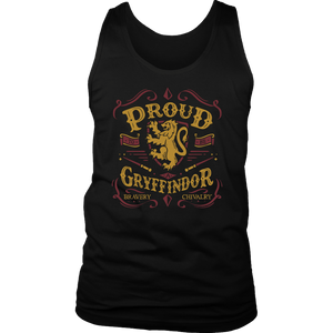 Gryffindor Pride District Mens Tank - District Mens Tank / Black / S - Ineffable Shop