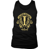 Harry Potter Vintage Hufflepuff District Mens Tank - Ineffable Shop