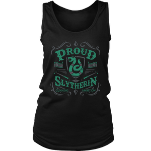 Slytherin District Womens Tank - District Womens Tank / Black / S - Ineffable Shop