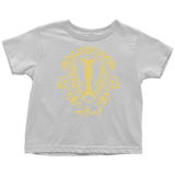 Harry Potter Vintage Hufflepuff Toddler T-Shirt - Toddler T-Shirt / White / 2T - Ineffable Shop