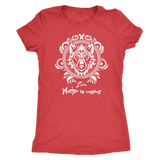 GOT House Stark Vintage Style - Next Level Womens Triblend - Ineffable Shop