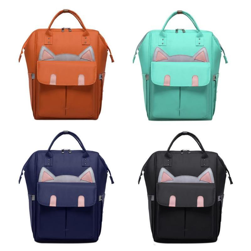 Cat Ear Waterproof Mommy Travel Backpacks - Ineffable Shop