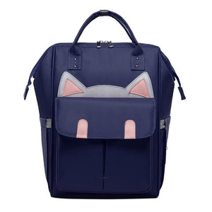 Cat Ear Waterproof Mommy Travel Backpacks - - Ineffable Shop
