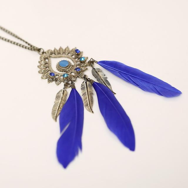 Native American Fringe Necklace - XL852AAA - Ineffable Shop