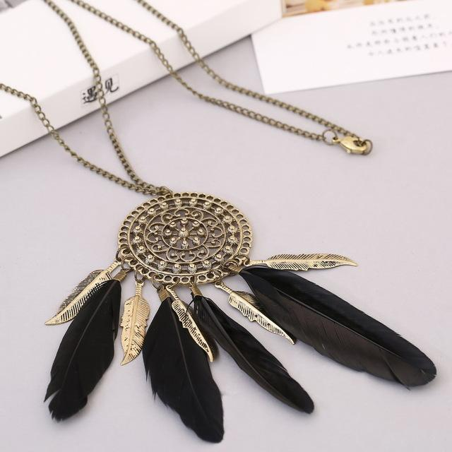 Native American Fringe Necklace - XL856AAA - Ineffable Shop