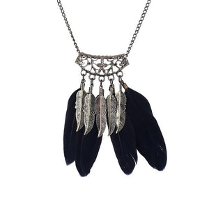 Native American Fringe Necklace - XL859AAA - Ineffable Shop