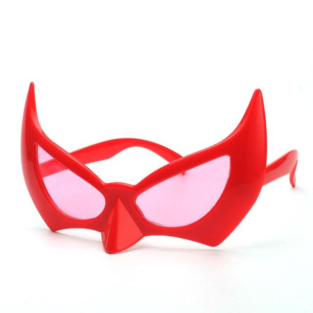 Super Cool Batman Costume Mask - red - Ineffable Shop