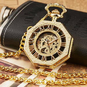Steampunk Pocket Watches - Gold - Ineffable Shop