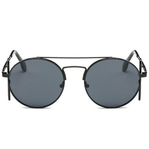 Steampunk Sunglasses - Black and Gray - Ineffable Shop