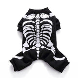 Halloween Skeleton Costumes for Dogs & Cats - Skull Sweater / L - Ineffable Shop