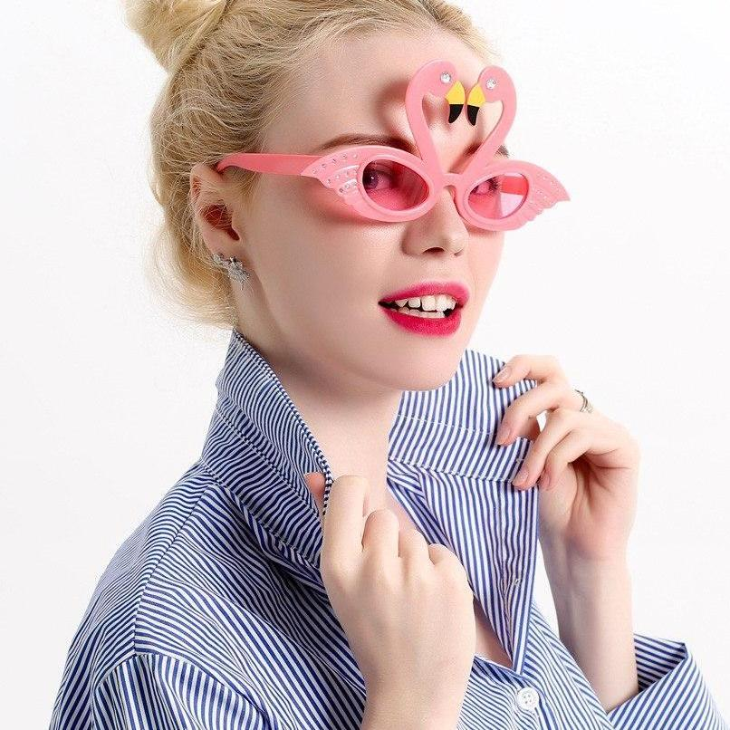 Super Cool Pink Flamingos Glasses - - Ineffable Shop