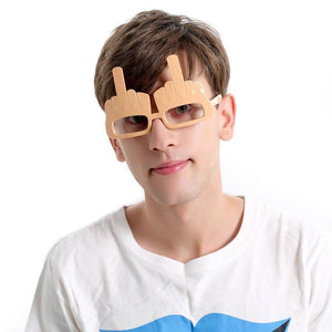 Super Cool Middle Fingers Glasses - - Ineffable Shop