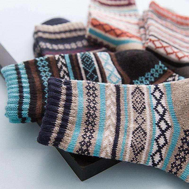Native American Wool Casual Socks - One Size Fits Most - - Ineffable Shop