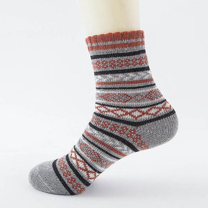 Native American Wool Casual Socks - One Size Fits Most - 05 - Ineffable Shop