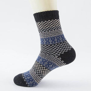 Native American Wool Casual Socks - One Size Fits Most - 06 - Ineffable Shop