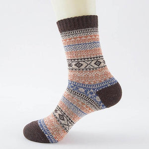 Native American Wool Casual Socks - One Size Fits Most - 11 - Ineffable Shop