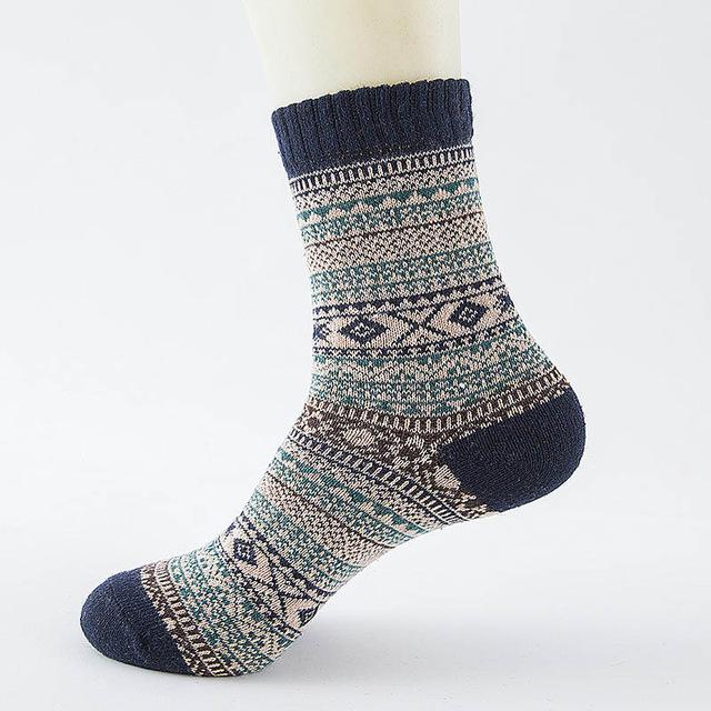 Native American Wool Casual Socks - One Size Fits Most - 13 - Ineffable Shop