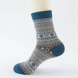 Native American Wool Casual Socks - One Size Fits Most - 15 - Ineffable Shop
