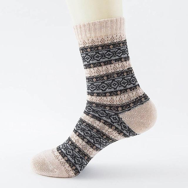 Native American Wool Casual Socks - One Size Fits Most - 19 - Ineffable Shop
